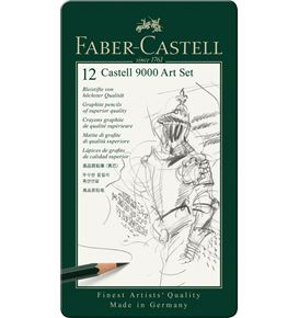 Faber-Castell - カステル9000番 アートセット