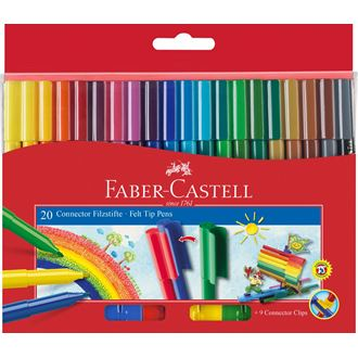Faber-Castell - コネクターペン20本セット