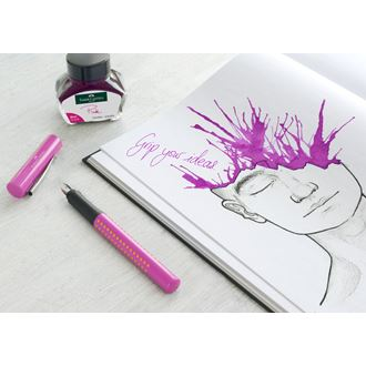 Faber-Castell - グリップ2010 万年筆 M ピンク