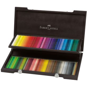 Faber-Castell - ポリクロモス色鉛筆120色木箱セット