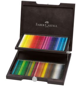 Faber-Castell - ポリクロモス色鉛筆72色木箱セット