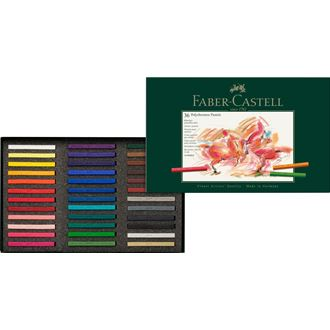 Faber-Castell - ポリクロモスパステル 36色 (紙箱入)